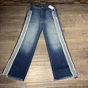 J Brand Joan Crop High Rise SZ 25 Jeans NWT